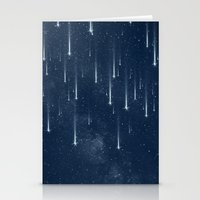 stars Stationery Cards featuring Wishing Stars by Paula Belle Flores