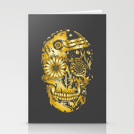 C3P GOLD Stationery Card