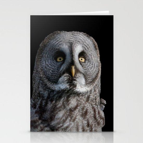 GREY OWL Stationery Card