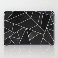 Black Stone iPad Case