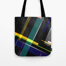 Line Pattern Tote Bag
