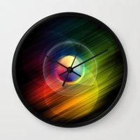 Dreams + Starlight Wall Clock