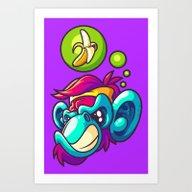 Monkey Business - Wild Art Print