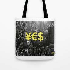 YES NYC Tote Bag