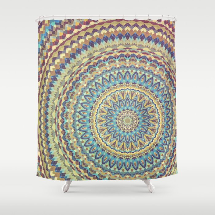 Mandala 116 Shower Curtain By Patterns Of Life