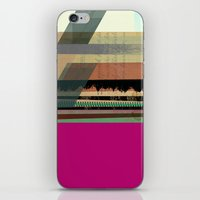 Pink Block iPhone & iPod Skin