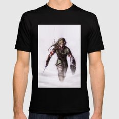 zelda Mens Fitted Tee Black SMALL