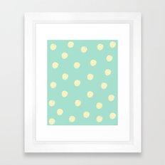 Talk Dotty to Me Framed Art Print