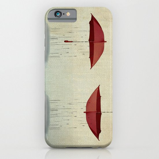 embracing the rain iPhone & iPod Case