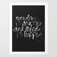 Everything Is Amazing Art Print