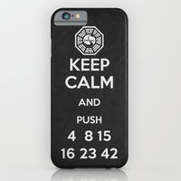 Keep Calm - Lost Poster iPhone 6 Slim Case