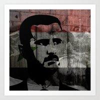 Heads of State: Bashar al-Assad Art Print