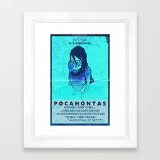Pocahontas: The Movie Framed Art Print