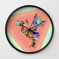 Behind Every Great Man T… Wall Clock