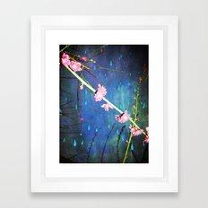 Lluvia en Abril Framed Art Print
