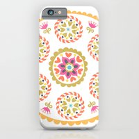 Suzani inspired floral 4 iPhone 6 Slim Case