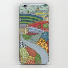 island patchwork iPhone & iPod Skin