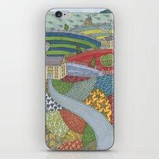 island patchwork iPhone & iPod Skin