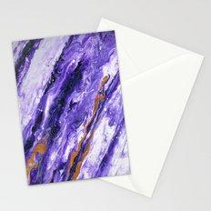 Chevron Amethyst 2 Stationery Cards