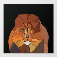 Dark Crystal Lion Canvas Print
