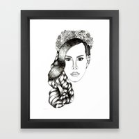 Lana Del lovely Framed Art Print