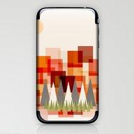 Mountains At Sunset iPhone & iPod Skin