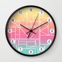 Kaku Quattro Wall Clock