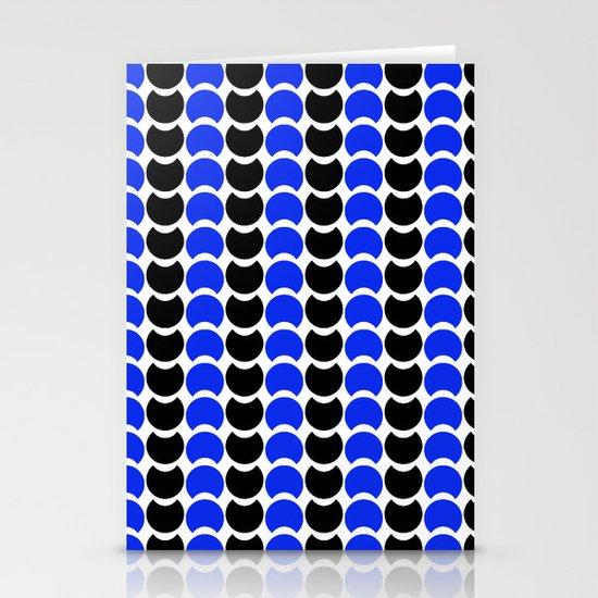 HobNob BlueBlack Print, Canvas and Laptop/iPad Skin Stationery Card