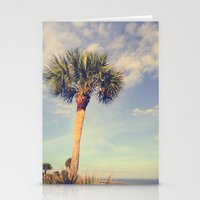 Palm Tree Paradise Stationery Cards