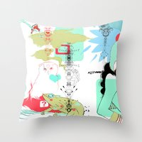 Funky s*!t Throw Pillow