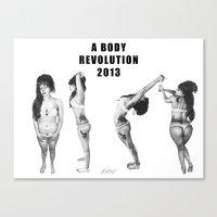 A Body Revolution 2013 Canvas Print