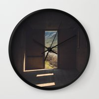 Room In The High Desert Wall Clock