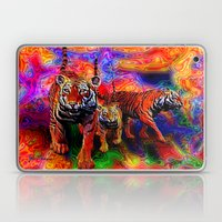 Psychedelic Tigers Laptop & iPad Skin