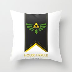its dangerous to go alone Throw Pillow