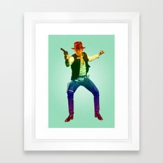 Indiana Solo Variant R Framed Art Print