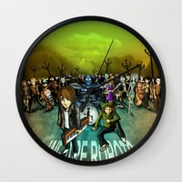 We Are Robots Wall Clock