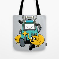 Portable Time! Tote Bag