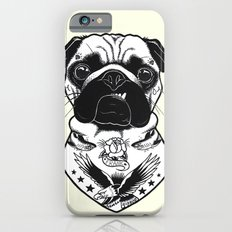 Dog - Tattooed Pug Slim Case iPhone 6s