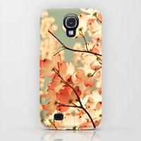 Galaxy S4 Cases featuring Pink by Olivia Joy StClaire