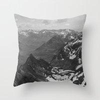 Archangel Valley Throw Pillow