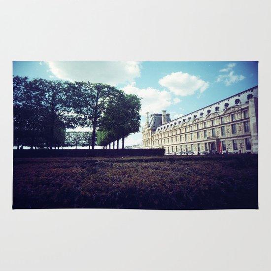 Louvre Gardens I Area & Throw Rug
