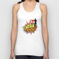 Captain Obvious t-shirt Unisex Tank Top