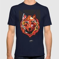 Nalubuff - Fox Mens Fitted Tee Navy SMALL