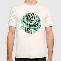 MARBELLOUS IN MINT AND G… Mens Fitted Tee Natural SMALL