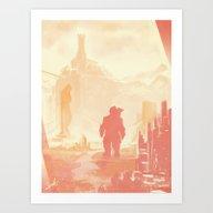 Dragon Age: Varric Art Print