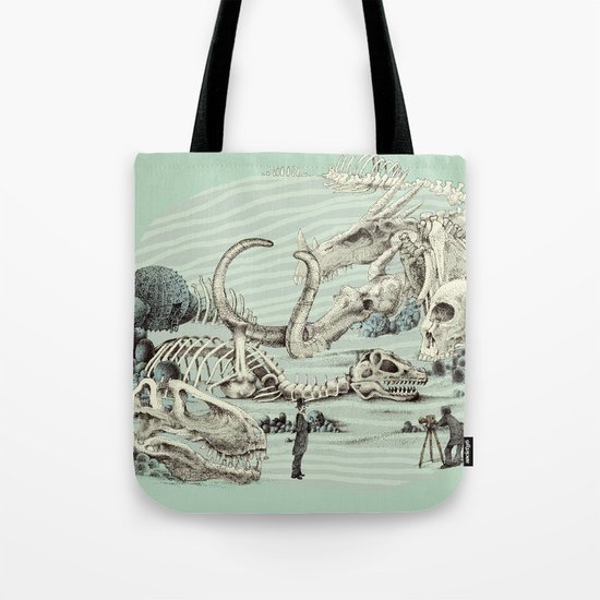 The Lost Beach Tote Bag