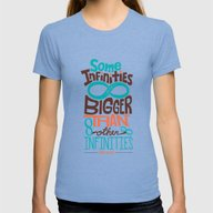 T-shirt featuring Some Infinities Are Bigg… by Risa Rodil