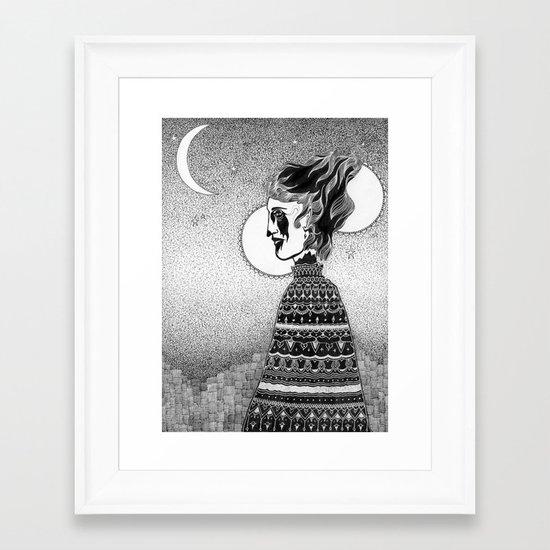 Widow Walk Framed Art Print