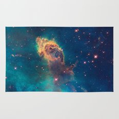 Space Nebula, A View of Astronomy, Stars, Galaxy, and Outer space  Rug