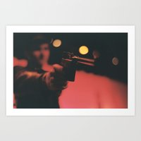 At Gunpoint Art Print